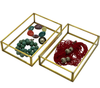 Orangery Glass & Brass Jewellery Box & Trays - Allissias Attic  &  Vintage French Style - 4