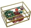 Orangery Glass & Brass Jewellery Box & Trays - Allissias Attic  &  Vintage French Style - 5
