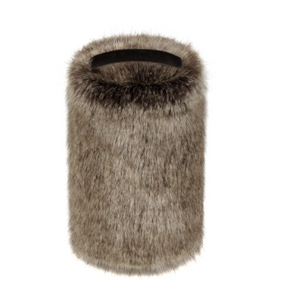 Faux Fur Doorstop - Truffle - Allissias Attic  &  Vintage French Style - 1