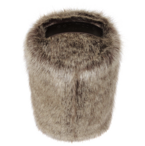 Faux Fur Doorstop - Truffle - Allissias Attic  &  Vintage French Style - 2