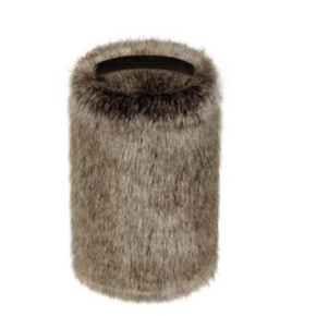 Faux Fur Doorstop - Golden Bear - Allissias Attic  &  Vintage French Style - 2