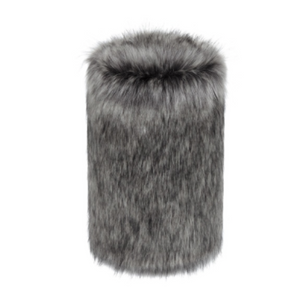 Faux Fur Doorstop - Lady Grey - Allissias Attic  &  Vintage French Style - 1
