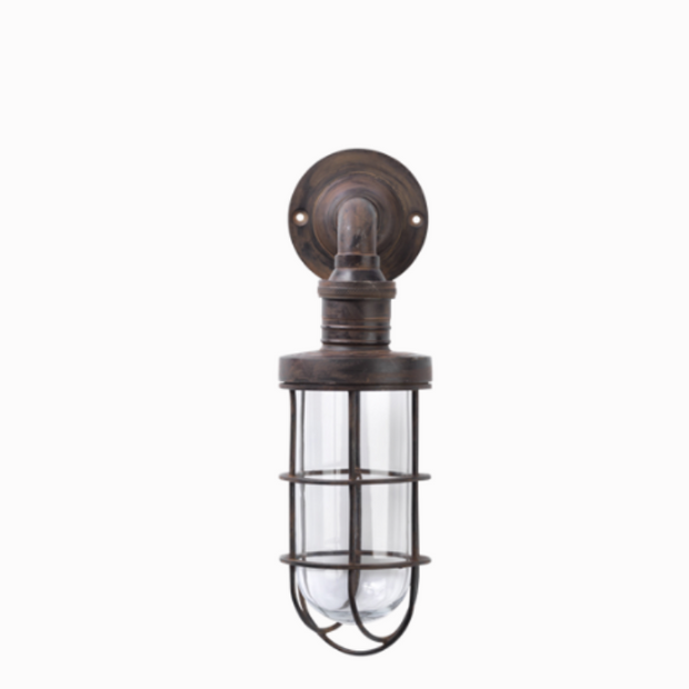 Vintage Styled Caged Outdoor Light - Allissias Attic  &  Vintage French Style - 2