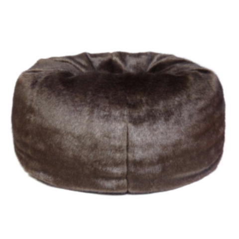 Faux Fur Beanbag - Treacle - Allissias Attic  &  Vintage French Style