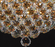 Large Multi Crystal Ball Chandelier - Allissias Attic  &  Vintage French Style - 4