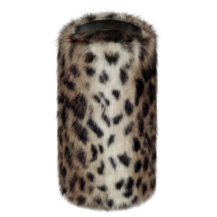 Faux Fur Doorstop - Ocelot - Allissias Attic  &  Vintage French Style - 1