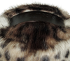 Faux Fur Doorstop - Ocelot - Allissias Attic  &  Vintage French Style - 3