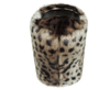 Faux Fur Doorstop - Ocelot - Allissias Attic  &  Vintage French Style - 2