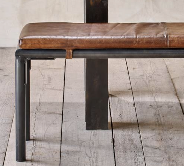 Taya Leather Bench - 1800mm