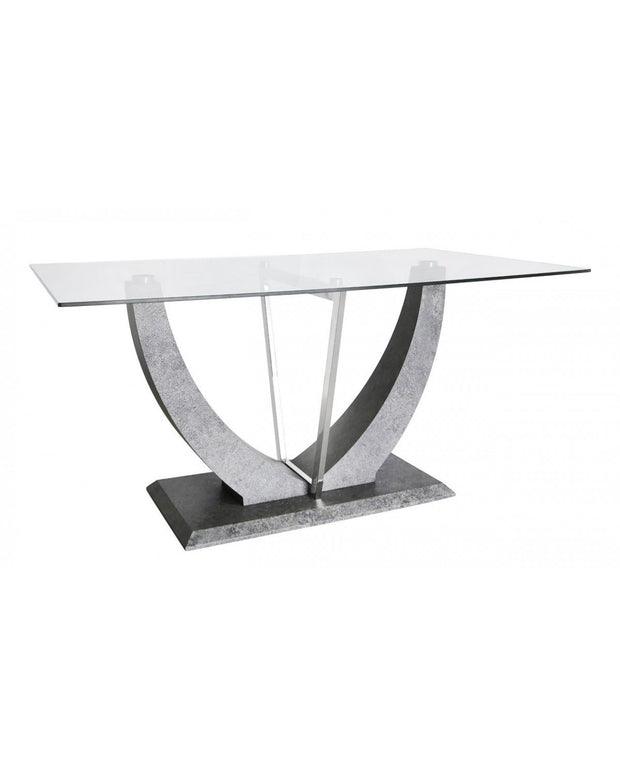 Light Grey Leon Dining Table