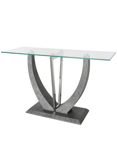 Light Grey Leon Console Table