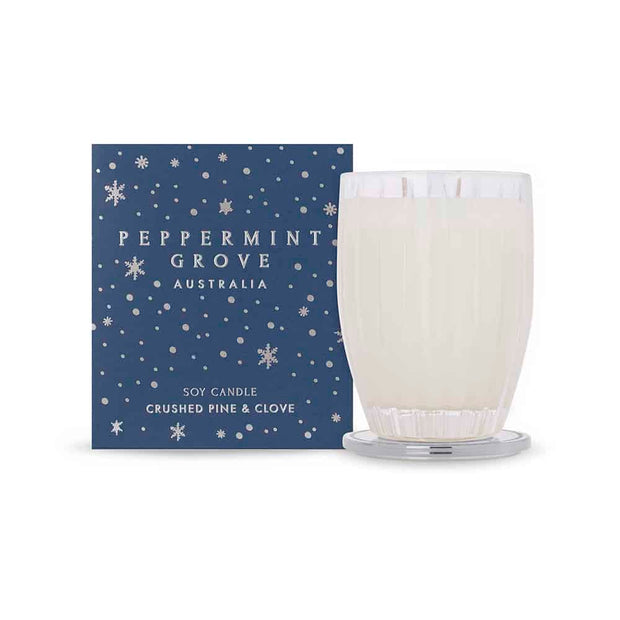 Peppermint Grove - Large Candle - Christmas Pine