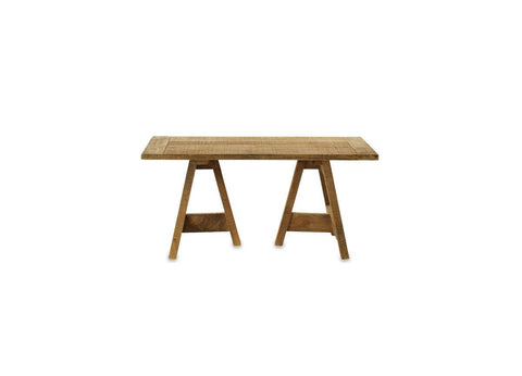 Oto Wooden Trestle Coffee Table - Large