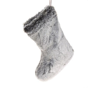 Katrina Hampton Faux Fur Christmas Stocking Boot