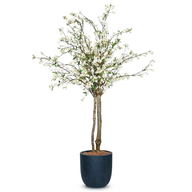 Cherry Blossom Artificial Tree - Cream