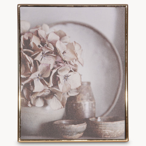 Gold Metal Photo Frame