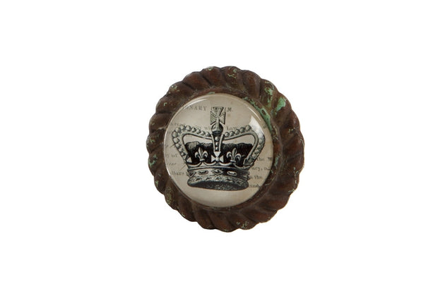 Crown Cupboard Knob - Allissias Attic  &  Vintage French Style - 2