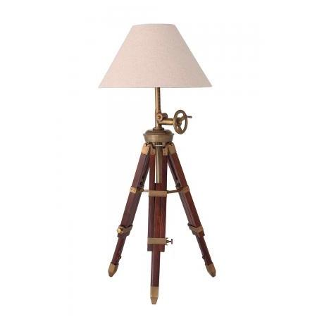 Tripod Table Lamp including Shade