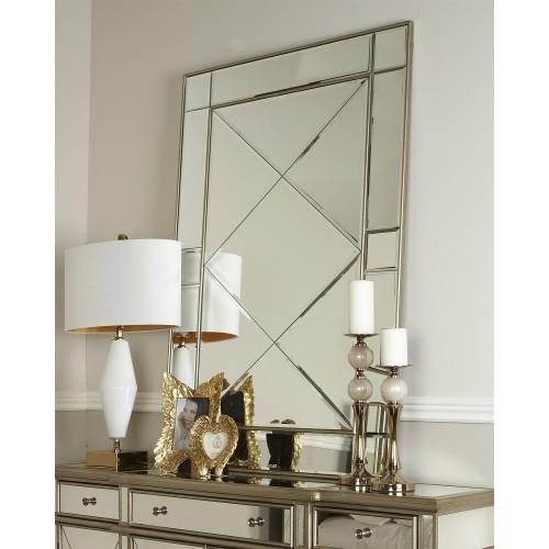 Beaumont Gold Wall Mirror