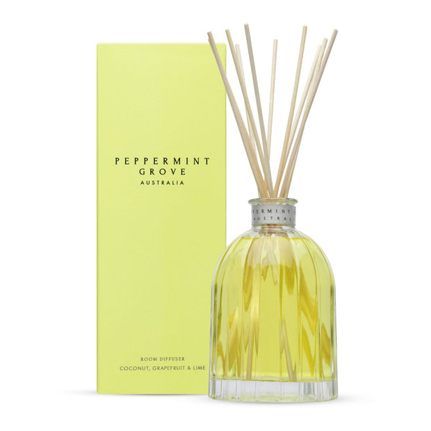 Peppermint Grove - Diffuser - Coconut Grapefruit & Lime