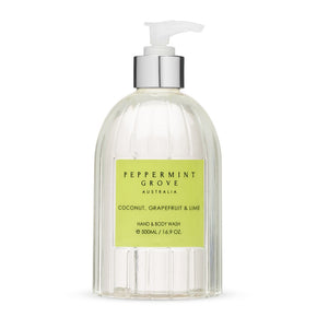 Peppermint Grove - Body Wash Pump - Coconut Grapefruit & Lime