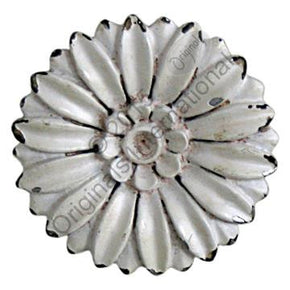 Daisy Drawer Knob - Cream - Allissias Attic  &  Vintage French Style