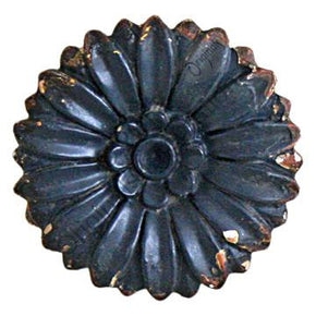 Daisy Drawer Knob - Black - Allissias Attic  &  Vintage French Style