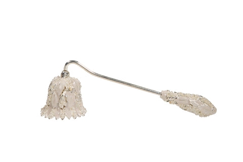 Pearl Encrusted Snow Drop Candle Snuffer