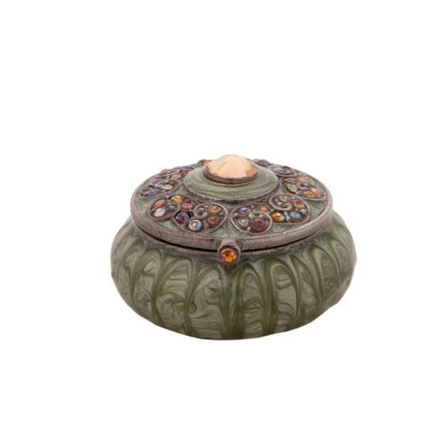Green Petit Trinket Box