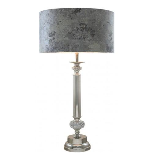 Medium Glitz Candlestick With Marble Shade