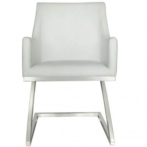 Astrid White Dining Chair