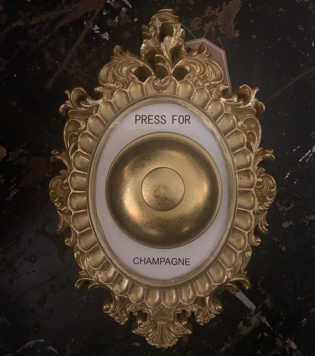 Push Here for Champagne Button