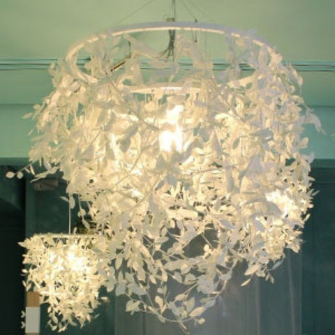 Paper Foresti Pendant Lamp - Allissias Attic  &  Vintage French Style - 2