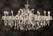 Enormous Crystal Drop Chandelier - Allissias Attic  &  Vintage French Style - 5