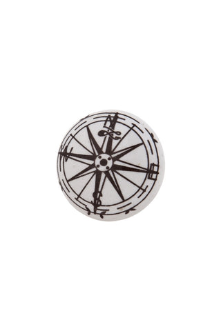 Compass Cupboard Knob - Allissias Attic  &  Vintage French Style - 2