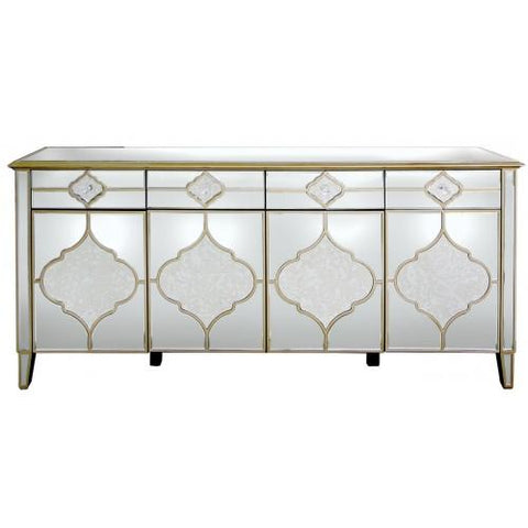 Marrakech 4 Drawer 4 Door Sideboard