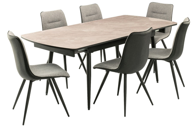 Nuna Dining Table & 6 Chairs
