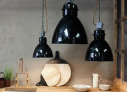 Okello Industrial Black Pendant - Small Medium or Large