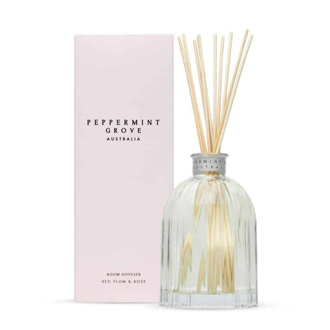 Peppermint Grove - Diffuser - Red Plum & Rose