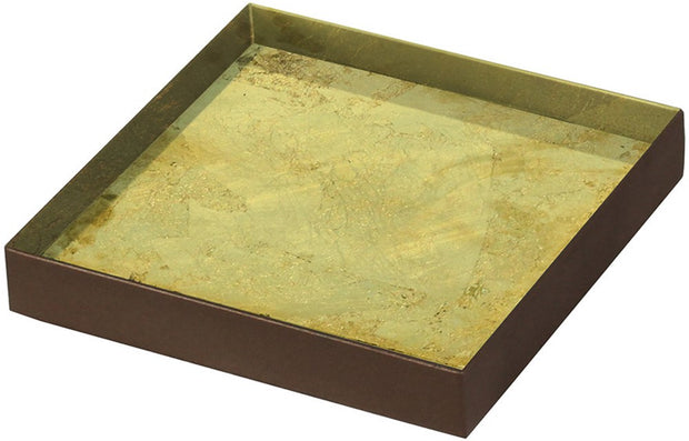 Notre Monde - Gold Leaf Tray - 2 sizes