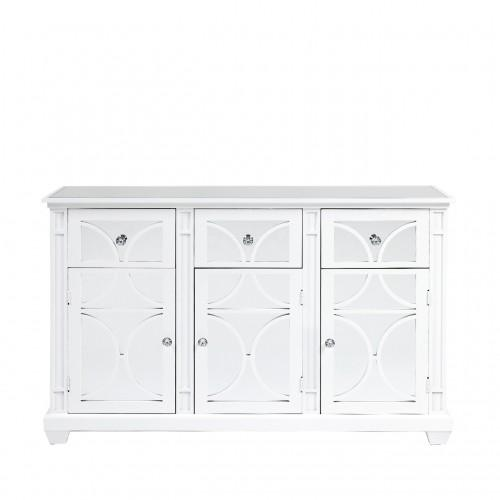 Torino White Wood 3 Door And 3 Drawer Sideboard