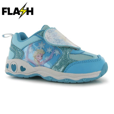 Disney Frozen Elsa Light Up Trainers - Novelty-Characters - 1