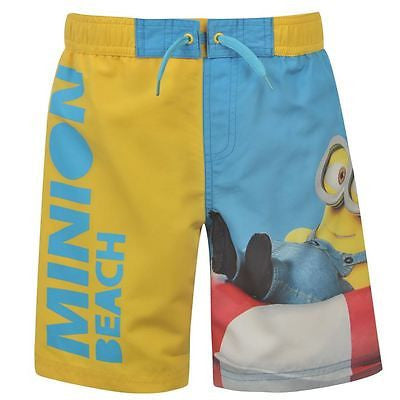 Boys Despicable Me Minions Beach Swim Shorts - Novelty-Characters - 1