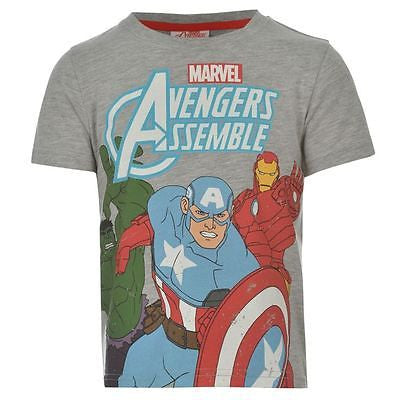 Boys Marvel Avengers T Shirt - Novelty-Characters - 1