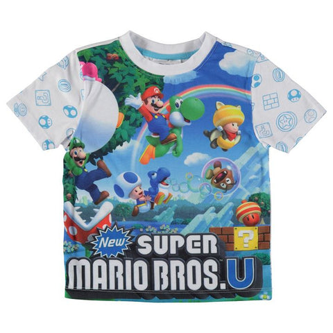 Boys Nintendo Super Mario T Shirt - Novelty-Characters - 1