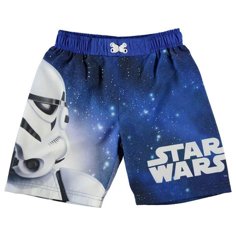 Boys Star Wars Storm Trooper Swim Shorts - Novelty-Characters - 1