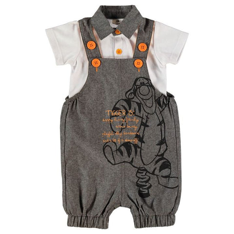 Disney Baby Tigger Dungarees Outfit Set - Novelty-Characters - 1