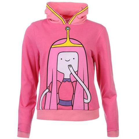 Womens Adventure Time Princess Bubblegum Hoodie - Novelty-Characters - 1