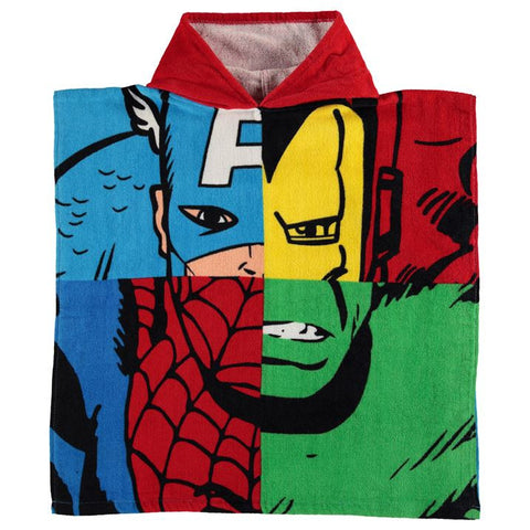 Marvel Avengers Hooded Poncho Towel - Novelty-Characters - 1