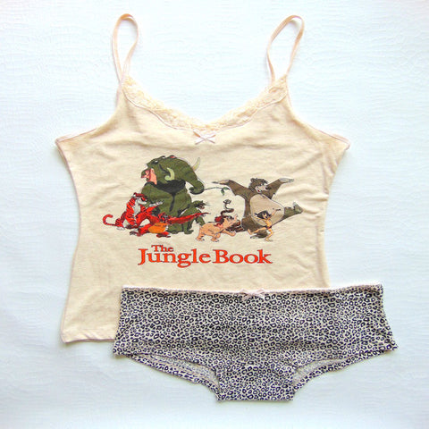 Primark Womens Jungle Book Pyjama Set - Novelty-Characters - 1
